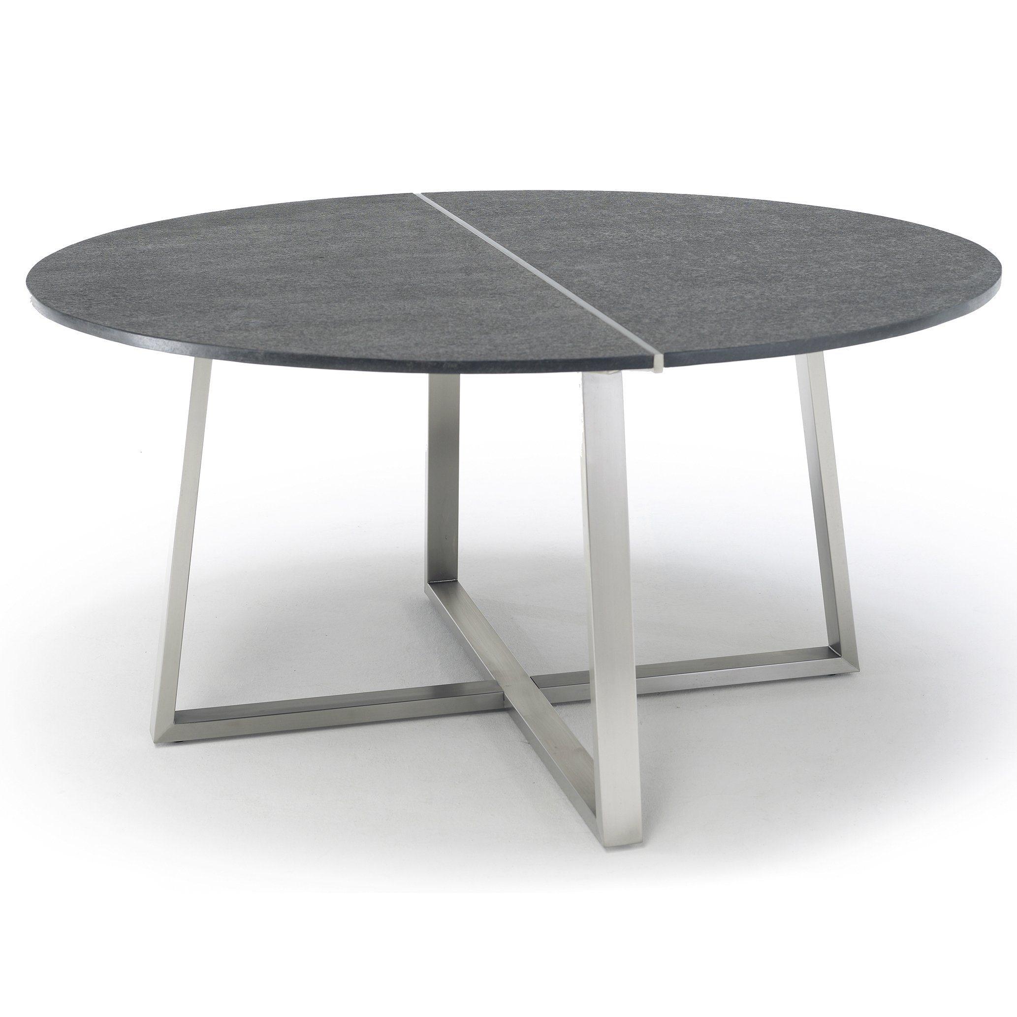 Gartentisch R Series, Dining Tisch Von Solpuri, Edelstahlgestell,  Tischplatte Keramik
