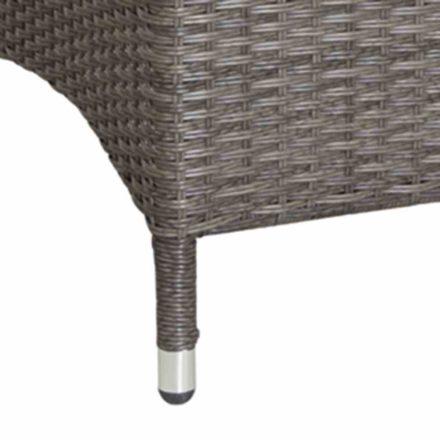 Porto Move Sessel, Detailaufnahme, Aluminiumgestell