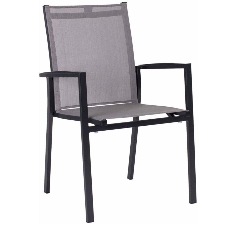 stern gartenm bel set mit stuhl new levanto und tisch aluminium granit. Black Bedroom Furniture Sets. Home Design Ideas