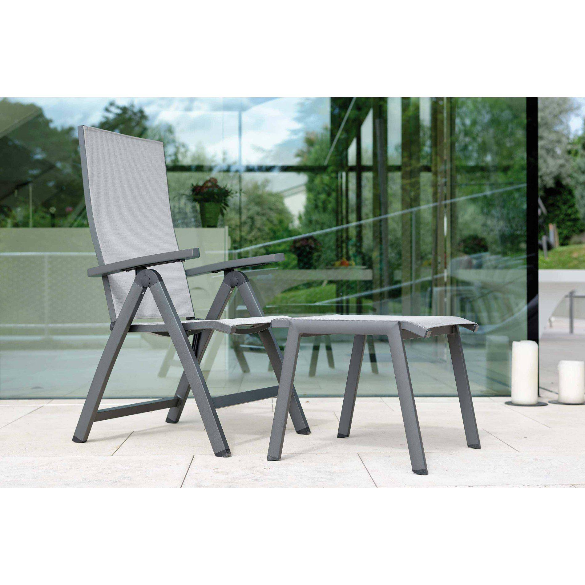 stern new top gartenstuhl verstellbar. Black Bedroom Furniture Sets. Home Design Ideas