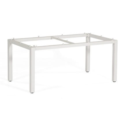 """SonnenPartner Tischgestell """"Base"""" 160x90 cm, Alu weiß"""