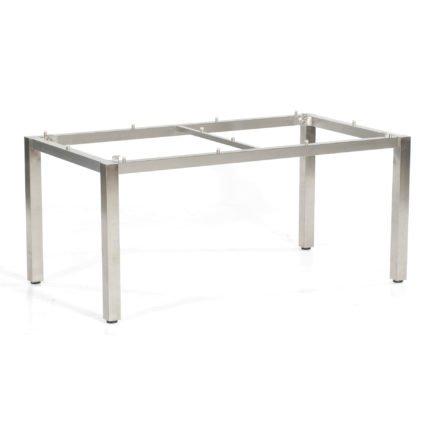 """SonnenPartner Tischgestell """"Base"""" 160x90 cm, Edelstahl"""