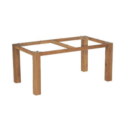 """SonnenPartner Tischgestell """"Base"""" 160x90 cm, Old Teak"""