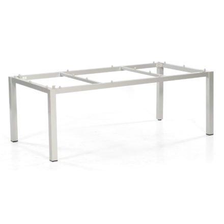 """SonnenPartner Tischgestell """"Base"""" 200x100 cm, Alu silber"""
