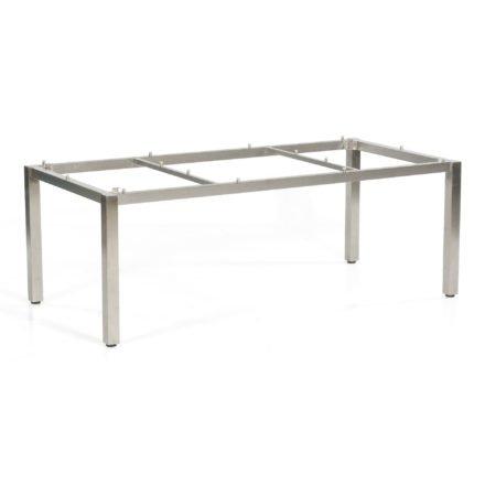 """SonnenPartner Tischgestell """"Base"""" 200x100 cm, Edelstahl"""