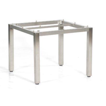 """SonnenPartner Tischgestell """"Base"""" 90x90 cm, Edelstahl"""