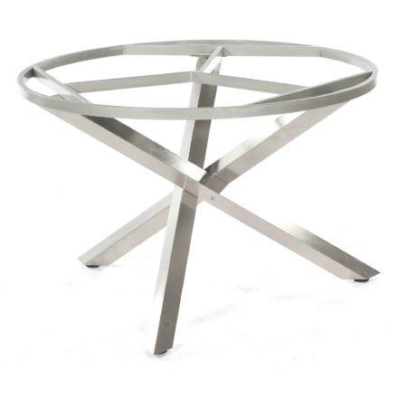 Base Gestell Edelstahl, Durchmesser 110 cm