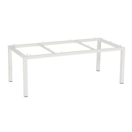 """SonnenPartner Tischgestell """"Base"""" 200x100 cm, Alu weiß"""
