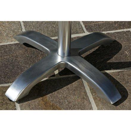 """Diamond Garden Tisch """"Cella"""" Tischfuß, Aluminium poliert"""