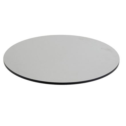 Tischplatte DiGa compact (HPL) von Diamond Garden, Beton hell, Durchmesser 68cm