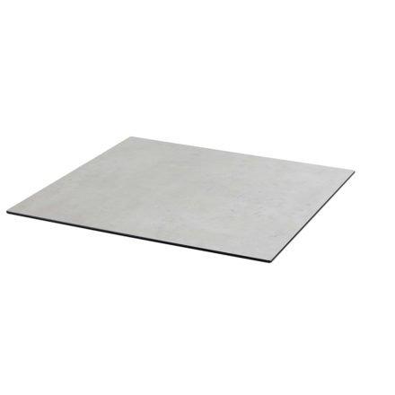 Tischplatte DiGa compact (HPL) von Diamond Garden, Beton hell, 68x68cm, 20° Fase