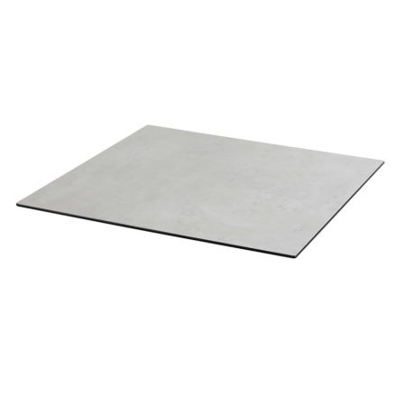 Tischplatte DiGa compact (HPL) von Diamond Garden, Beton dunkel, 68x68cm