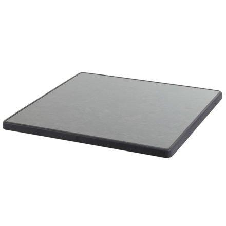 Diamond Garden Tischplatte DiGalit, Pizarra, 70x70 cm
