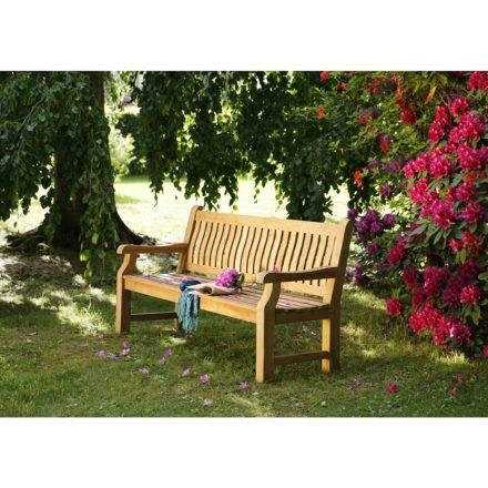 "Diamond Garden ""Chateau"" Gartenbank, Recycled Teak, natur"