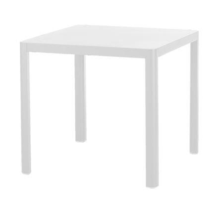 Gartentisch Kingston von Diamond Garden, Bistrotisch in weiß