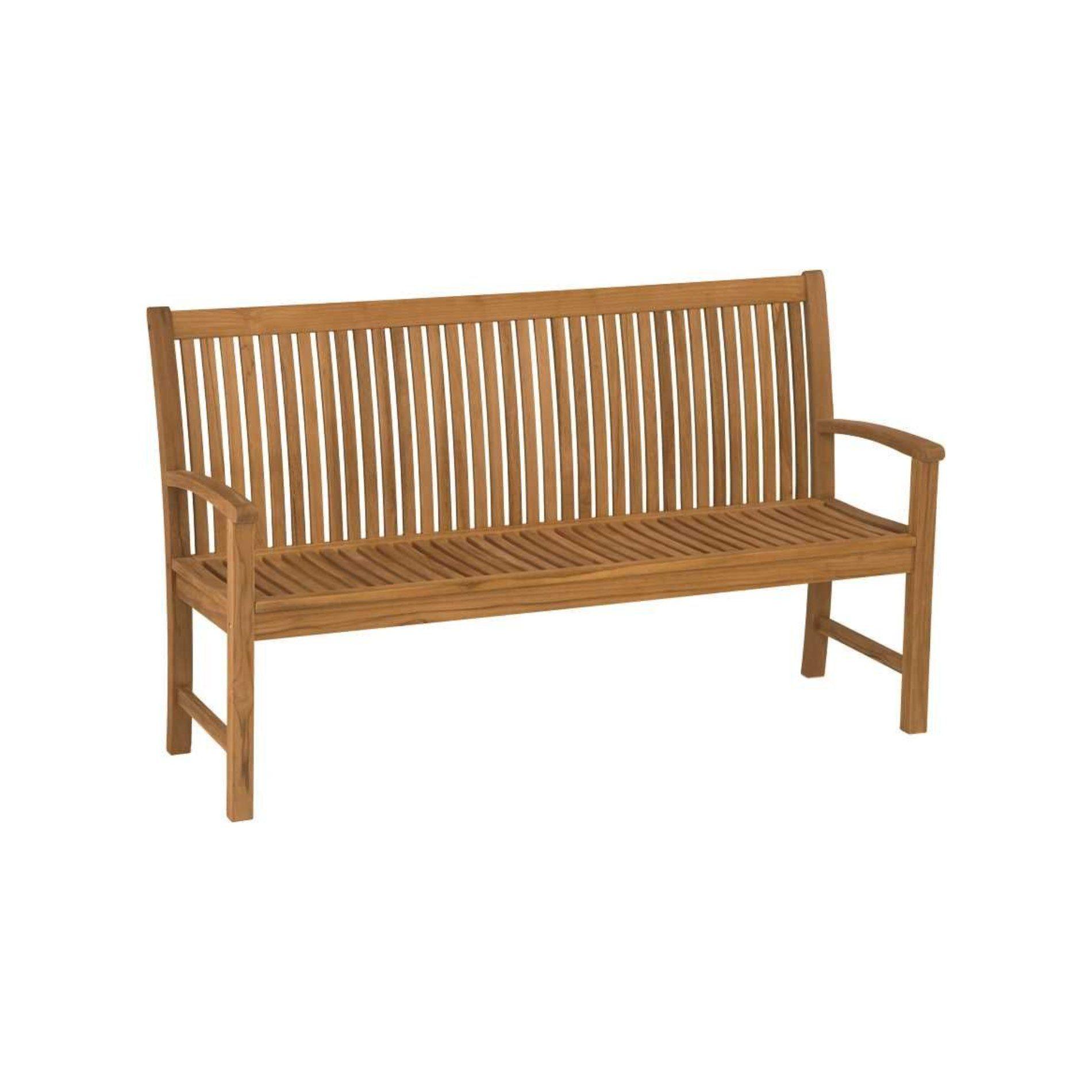 stern gartenbank teakholz. Black Bedroom Furniture Sets. Home Design Ideas