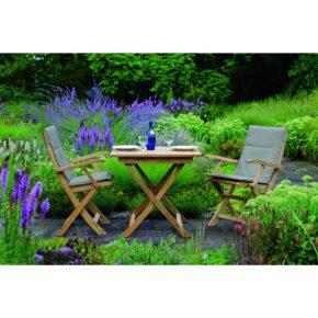 """Stern Gartenmöbel-Set mit Stuhl """"Malaga"""" und Tisch Teakholz"""