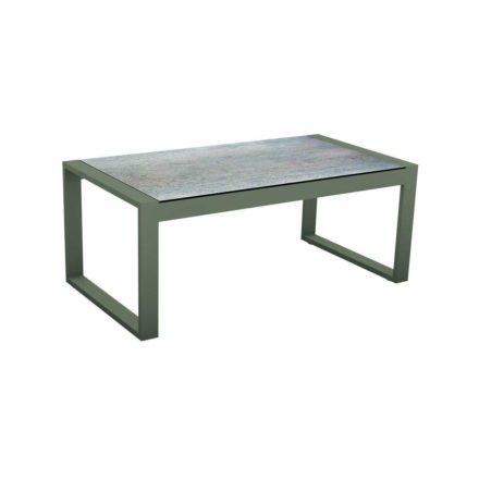 """Stern Beistelltisch """"Allround"""", Gestell Aluminium taupe, Tischplatte HPL Smoky"""