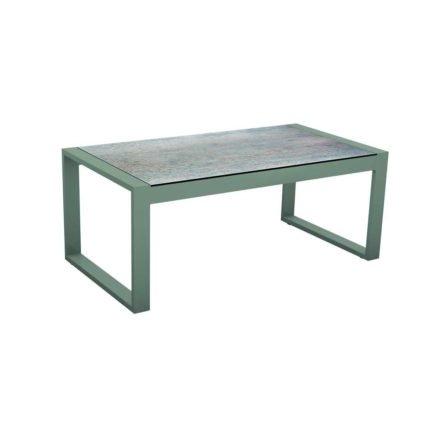 """Stern Beistelltisch """"Allround"""", Gestell Aluminium graphit, Tischplatte HPL Smoky"""
