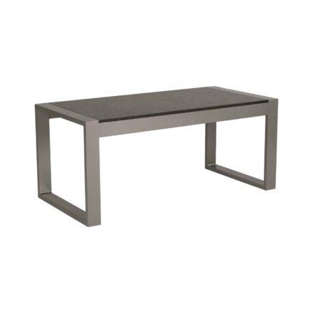 """Stern Beistelltisch """"Allround"""", Gestell Aluminium graphit, Tischplatte HPL Vintage grau"""