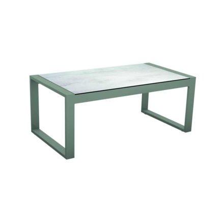 "Stern Beistelltisch ""Allround"", Gestell Aluminium graphit, Tischplatte HPL Zement hell"