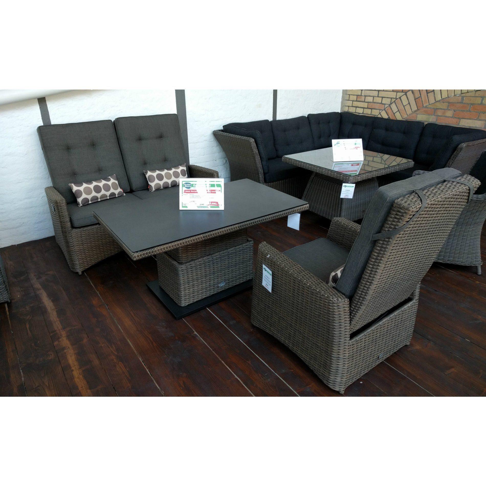 Siena Garden Loungeset Teramo - perfekter Sitzkomfort!