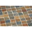 """SonnenPartner Gartentisch """"Montblanc"""", Gestell aus Eisen, Tischplatte aus Mosaik"""