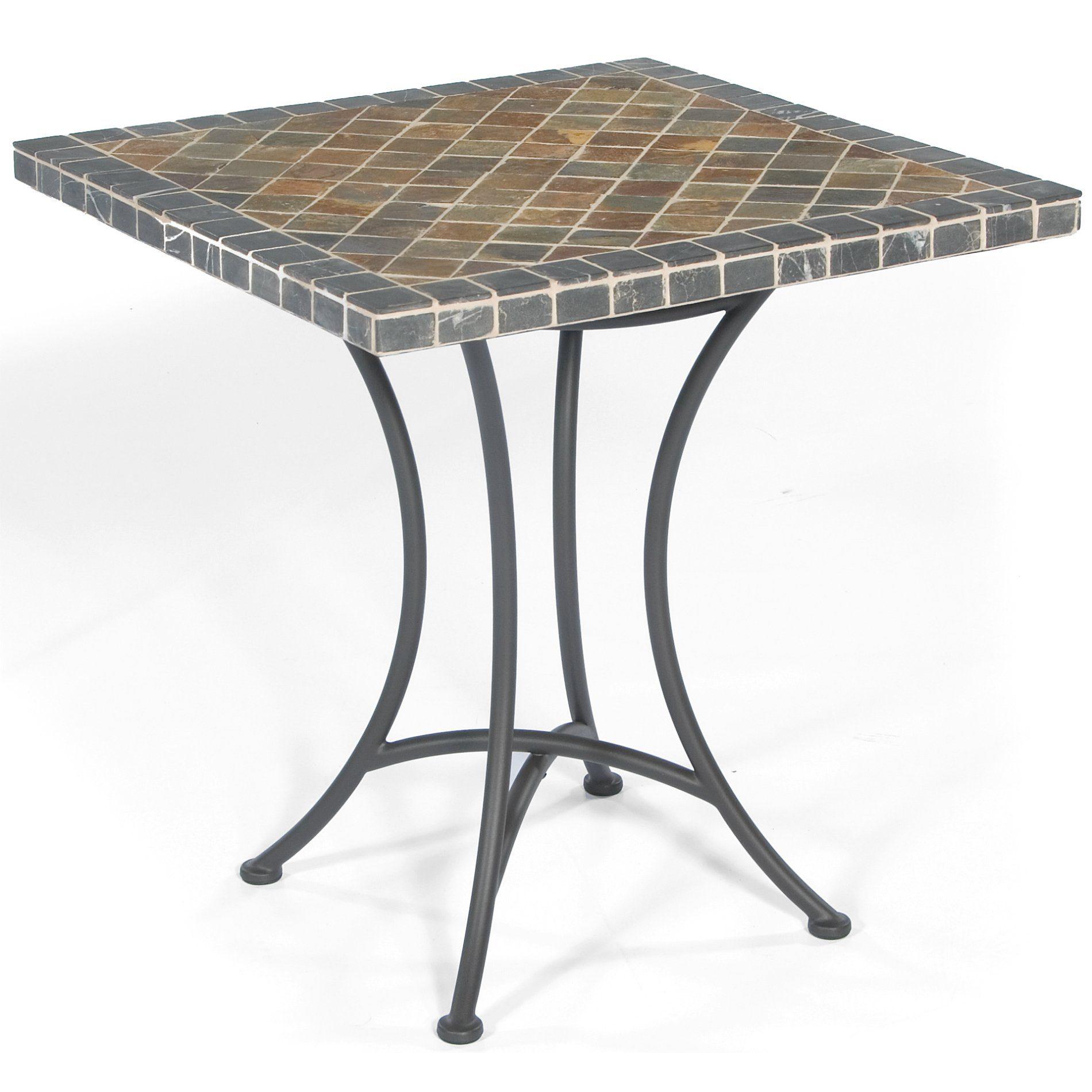 gartentisch eckig metall gartentisch sammy in grau grau cm with gartentisch eckig metall. Black Bedroom Furniture Sets. Home Design Ideas