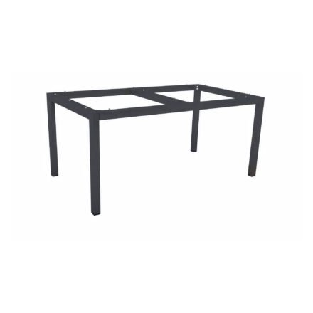 Stern Tischgestell Aluminium anthrazit, 160x90 cm