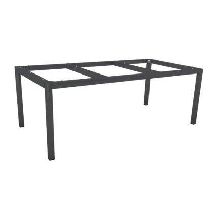 Stern Tischgestell Aluminium anthrazit, 200x100 cm