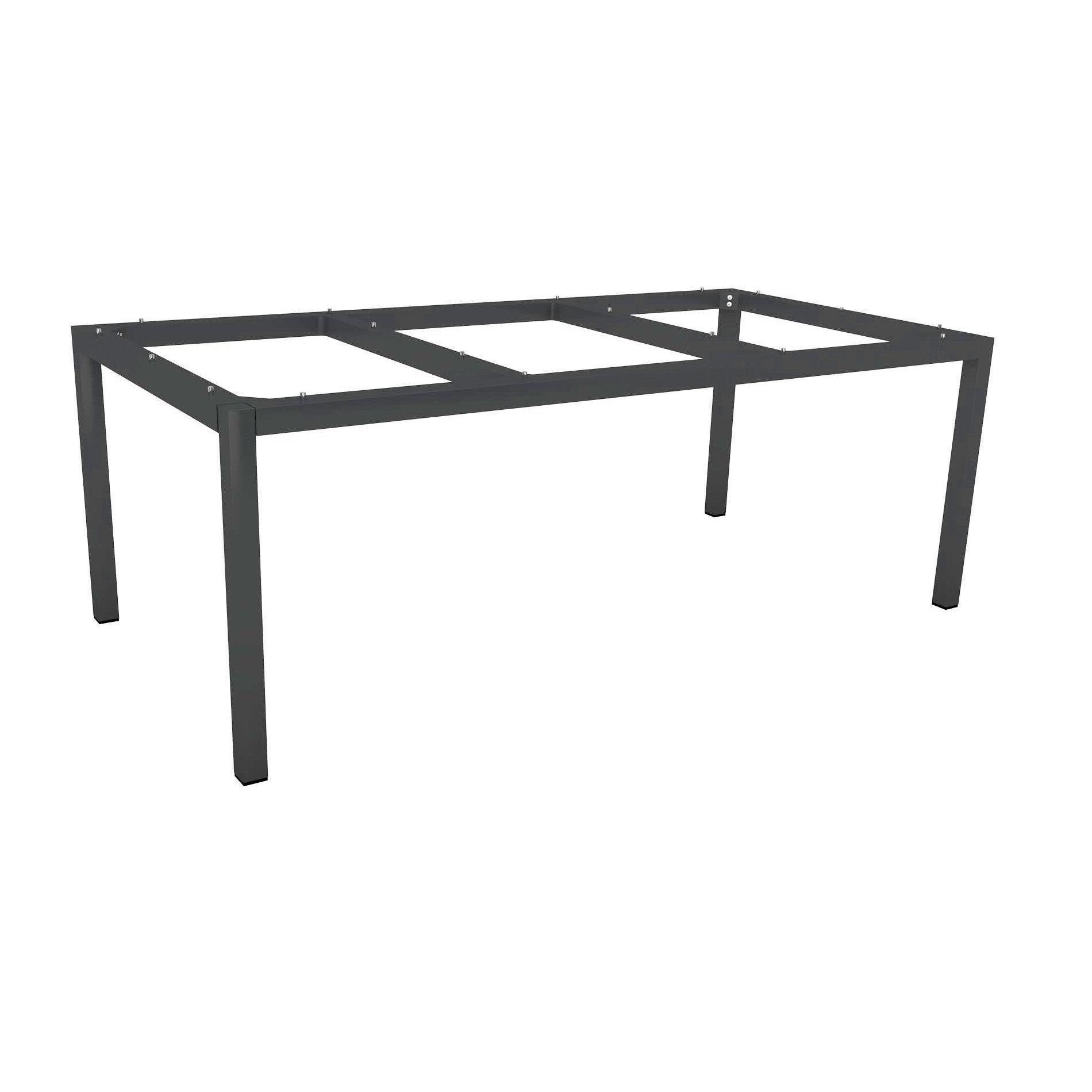Stern Tischsystem Gartentisch Aluminium/Granit