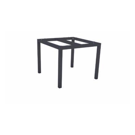 Stern Tischgestell Aluminium anthrazit, 90x90 cm
