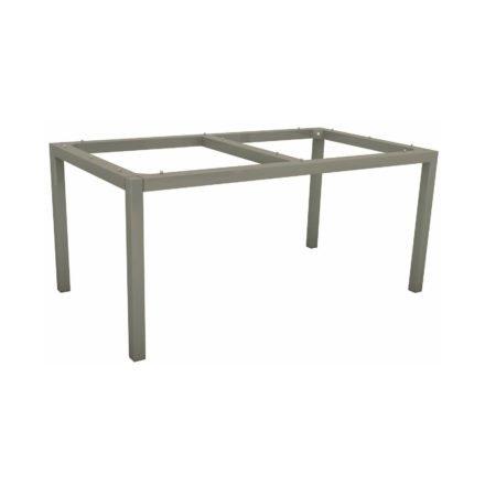Stern Tischgestell Aluminium graphit, 160x90 cm