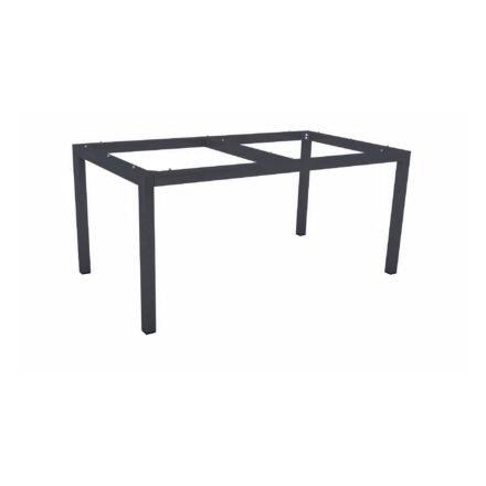 Stern Tischgestell Aluminium anthrazit, 130x80 cm