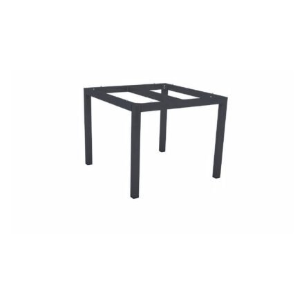 Stern Tischgestell Aluminium anthrazit, 80x80 cm