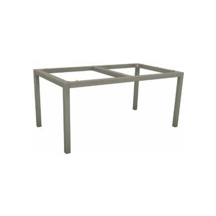 Stern Tischgestell Aluminium graphit, 130x80 cm