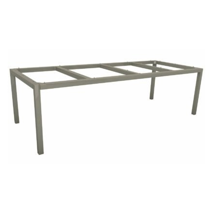 Stern Tischgestell Aluminium graphit, 250x100 cm