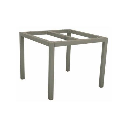 Stern Tischgestell Aluminium graphit, 80x80 cm