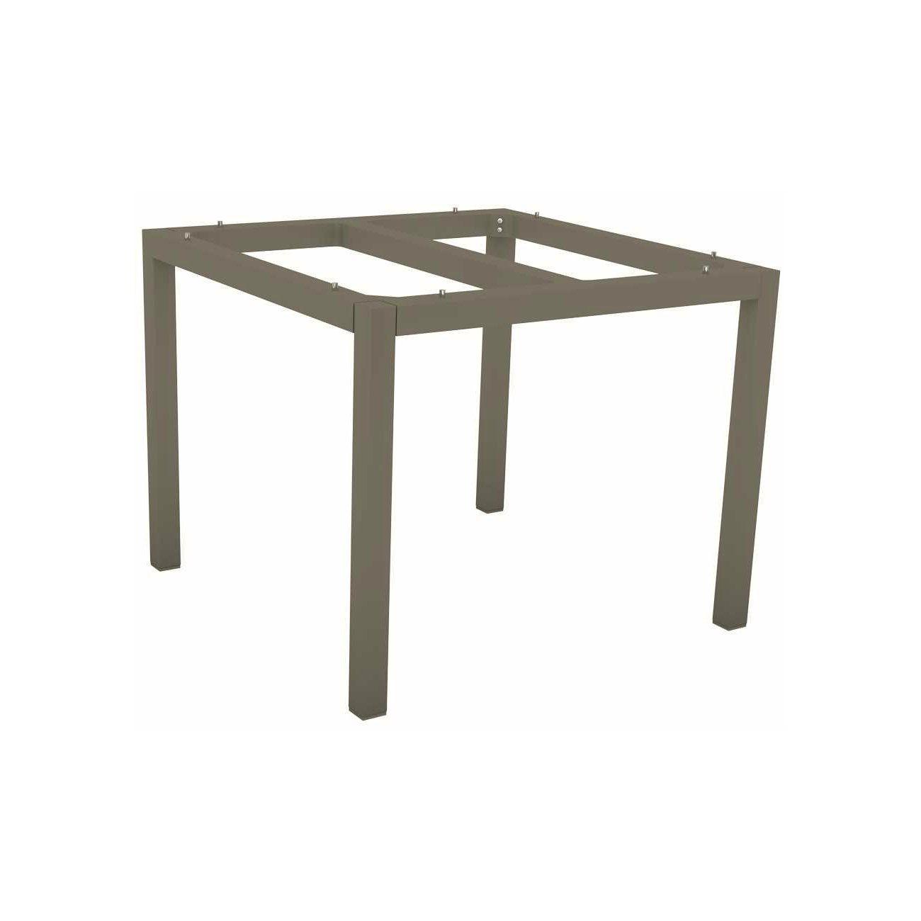 Stern Tischsystem Gartentisch Aluminium Teak