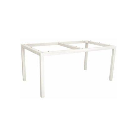 Stern Tischgestell Aluminium, weiß, 130x80 cm