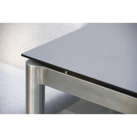 Stern Tischsystem Edelstahl Rundrohr/HPL