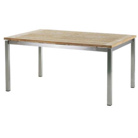 """Diamond Garden Gartentisch """"San Marino"""", 160 cm, Tischplatte Old Teak natur"""