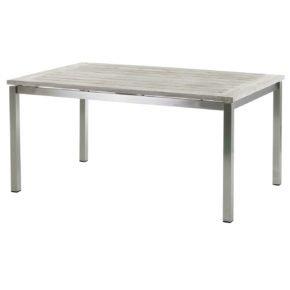 """Gartentisch """"San Marino"""", 160 cm, Tischplatte Old Teak seawashed, von Diamond Garden"""