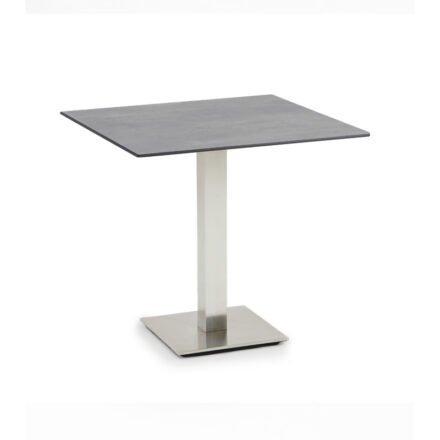 """Niehoff Tisch """"Bistro"""", Tischplatte HPL Beton-Design, eckig, 68 cm"""