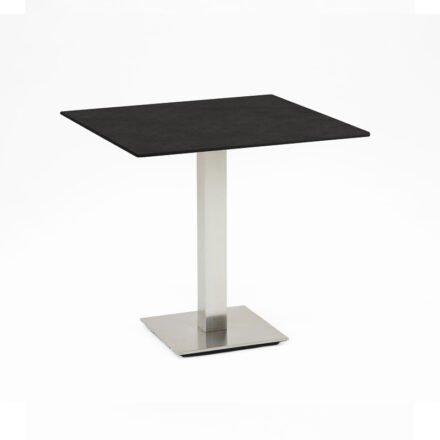 """Niehoff Tisch """"Bistro"""", Tischplatte HPL granit-Design, eckig, 68 cm"""