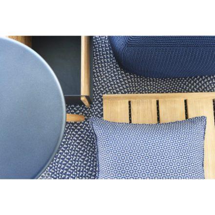 """Outdoor-Teppich """"Defined"""" in blau von Cane-line"""