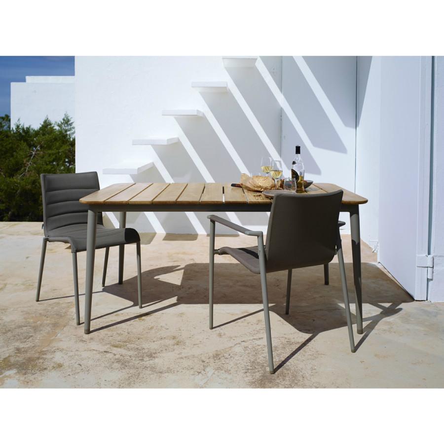 cane line core gartentisch. Black Bedroom Furniture Sets. Home Design Ideas