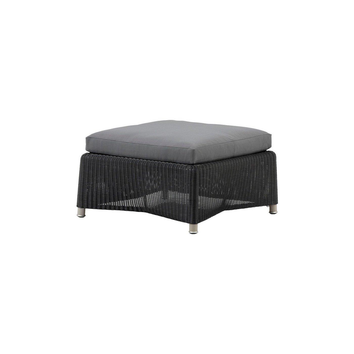 cane line loungehocker diamond aus geflecht jetzt besonders g nstig. Black Bedroom Furniture Sets. Home Design Ideas
