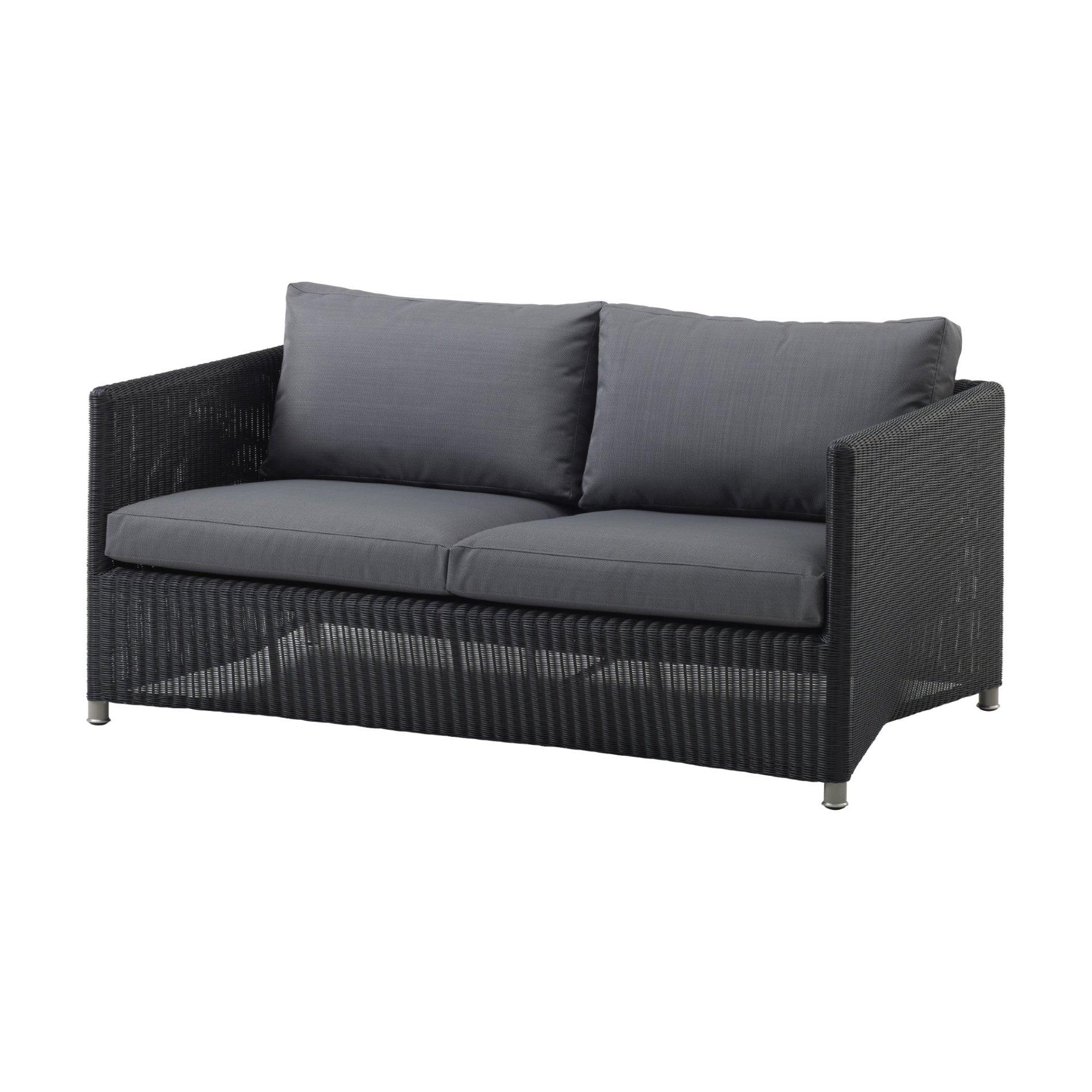 cane line loungesofa diamond aus geflecht jetzt. Black Bedroom Furniture Sets. Home Design Ideas