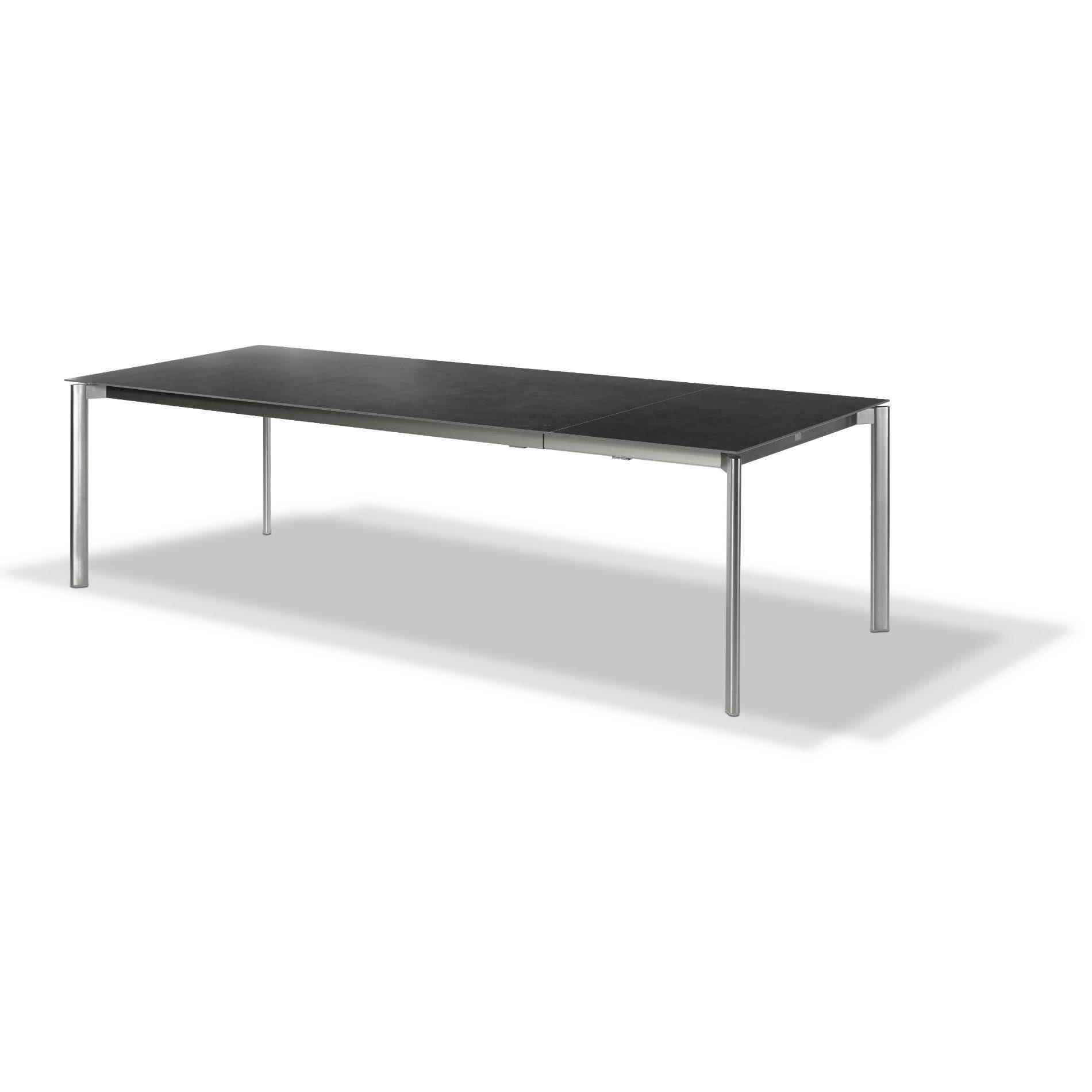 fischer m bel swing gartentisch ausziehbar. Black Bedroom Furniture Sets. Home Design Ideas